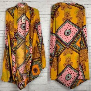 Boho Goddess Cocoon Kimono | Elegant Stylish